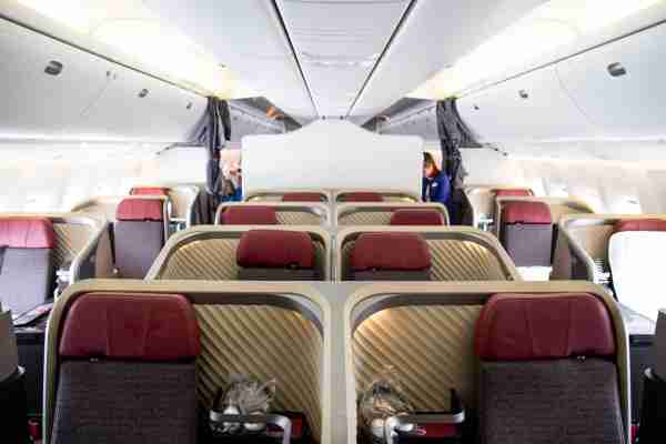 LATAM 767 Business Class. Photo by Brendan Dorsey/The Points Guy