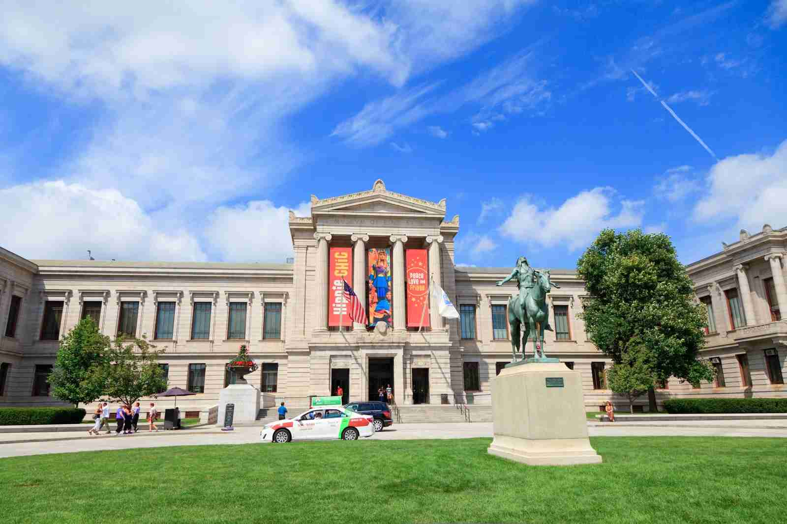 The Museum of Fine Arts in Boston, Massachusetts, is one of the largest museums in the United States. (Photo via Getty Images)