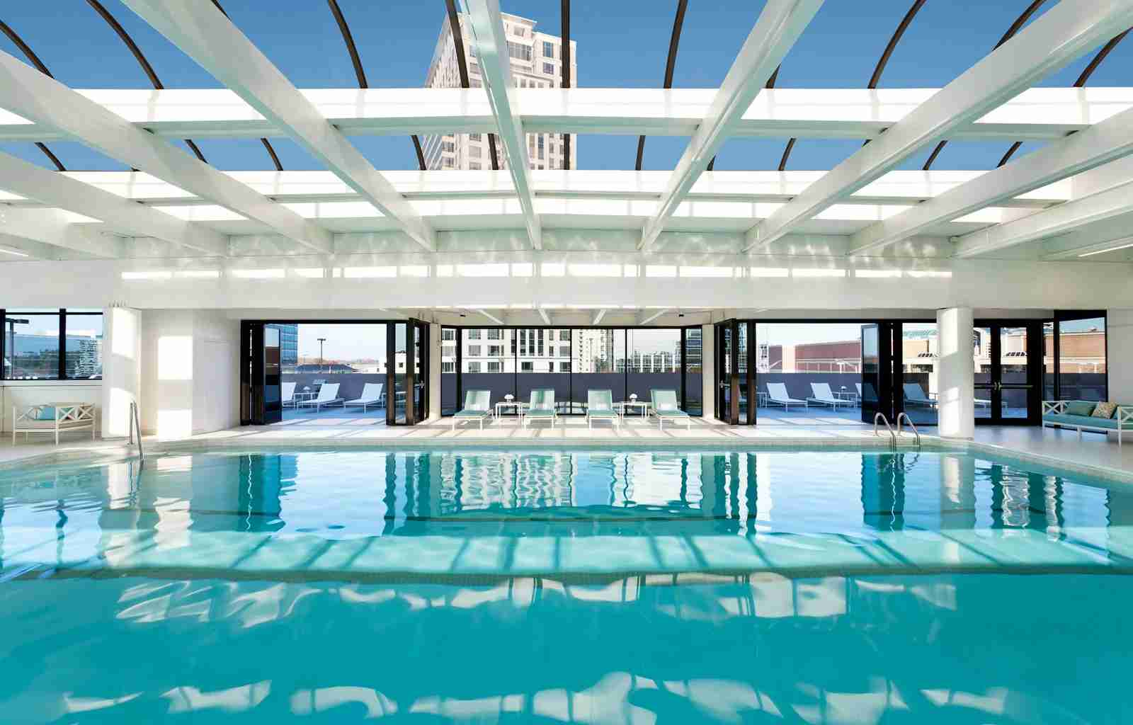 The pool situation at The Whitley, Atlanta. (Photo courtesy of The Whitley)