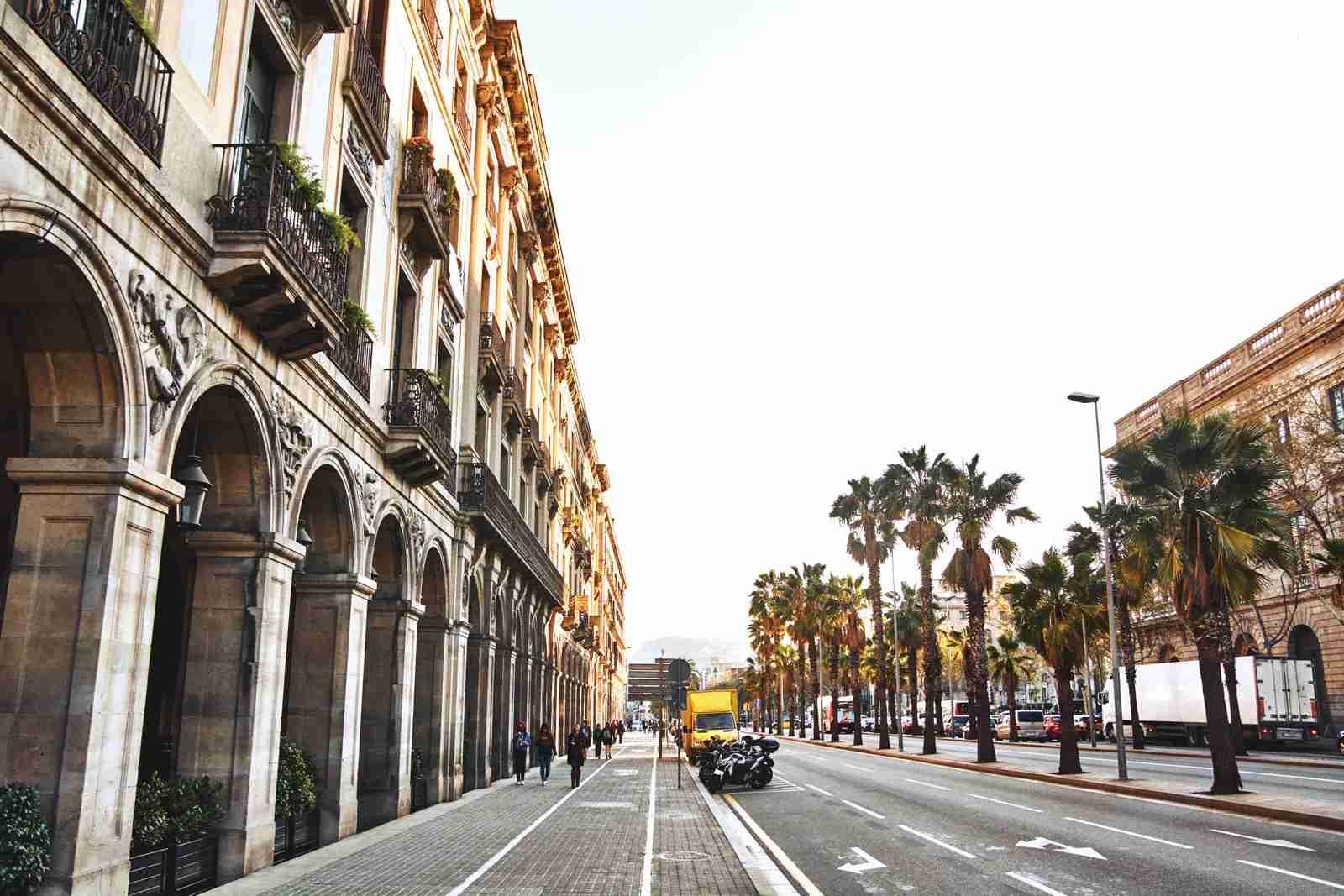 Silence pervades Barcelona