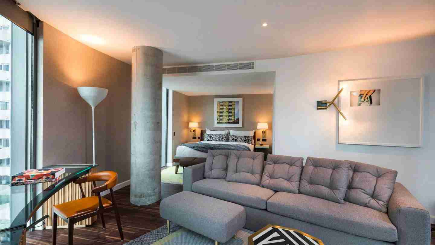 A suite within the Bankside Hotel, Autograph Collection in London (Photo courtesy of the hotel)
