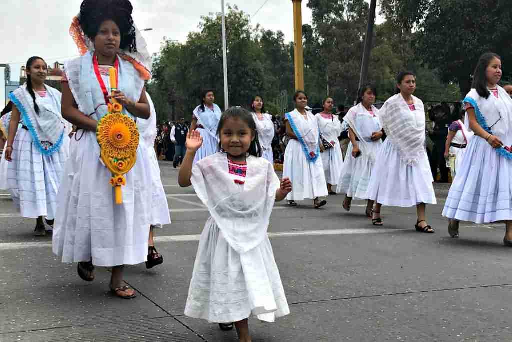 Cinco de Mayo parade in Puebla, Mexico