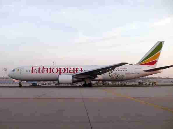 (GERMANY OUT) Germany - Hesse - Frankfurt am Main: airplane Boeing B767 of the Ethiopian Airlines (Photo by JOKER/Hady Khandani/ullstein bild via Getty Images)