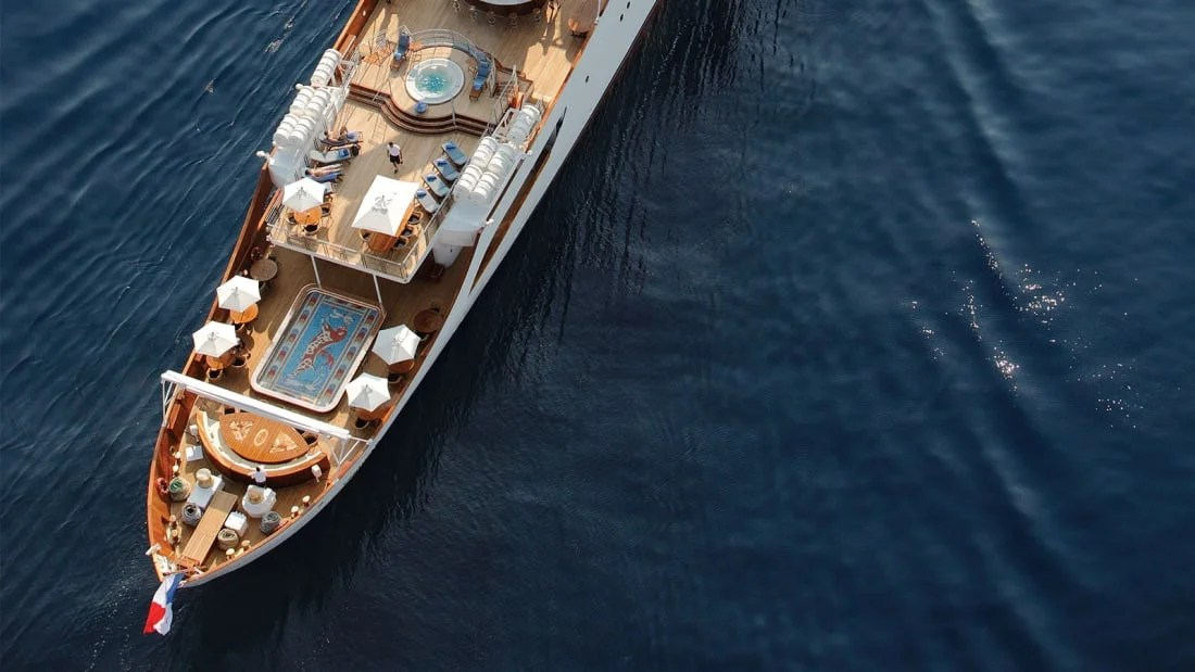 You Can Now Rent Jackie O's Former Yacht for a Cool $32 Million
