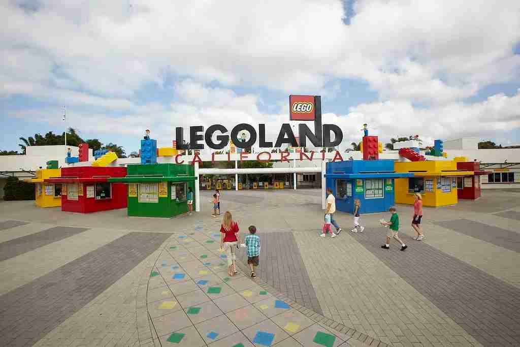LEGOLAND California main entrance