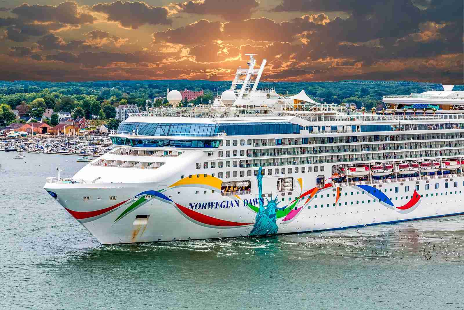 Norwegian Dawn cruise ship. (Photo by Shutterstock)