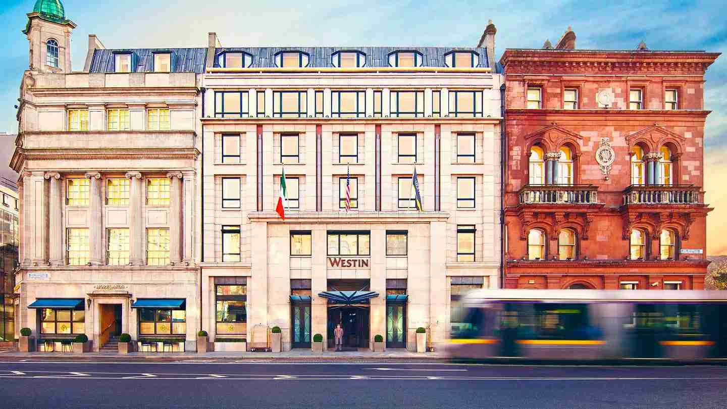 The Westin Dublin dropped from a category 7 to 6 (Photo courtesy of the hotel)