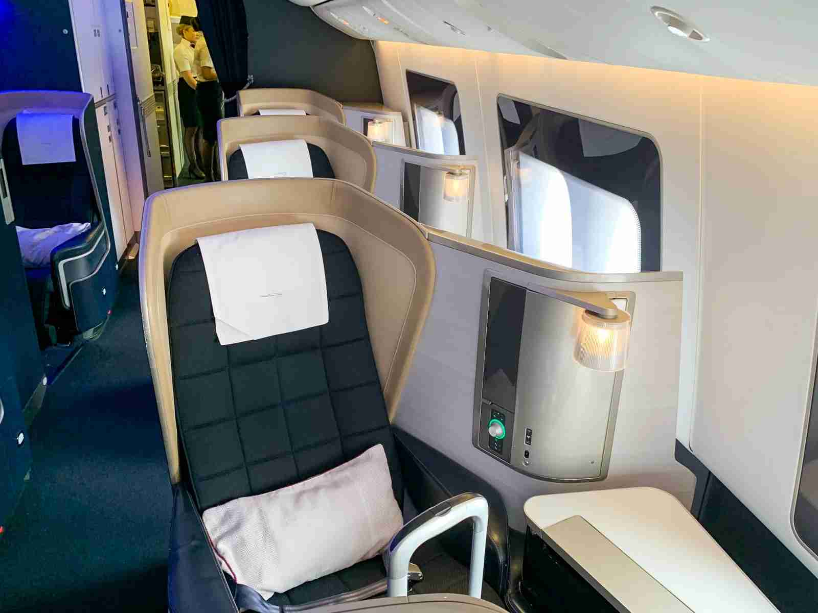 British Airways 777 First Class (Photo by Ethan Steinberg / The Points Guy)