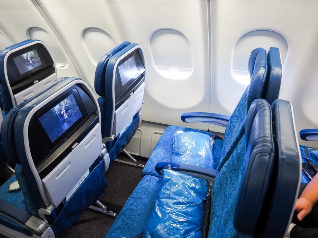 Hawaiian Airlines economy (Photo by Wallace Cotton / The Points Guy)