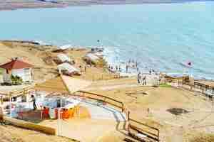 The Dead Sea in Israel. (Photo by Dan Gold / Unsplash)