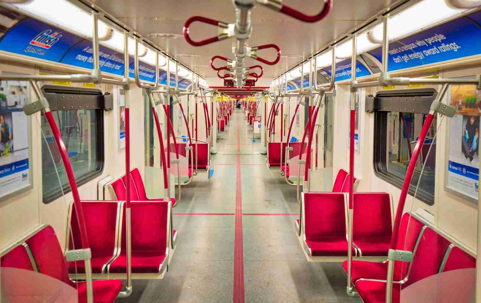 Renovated trains operating at Toronto Subway TTC lines. (Photo by Elijah Lovkoff / Getty Images)