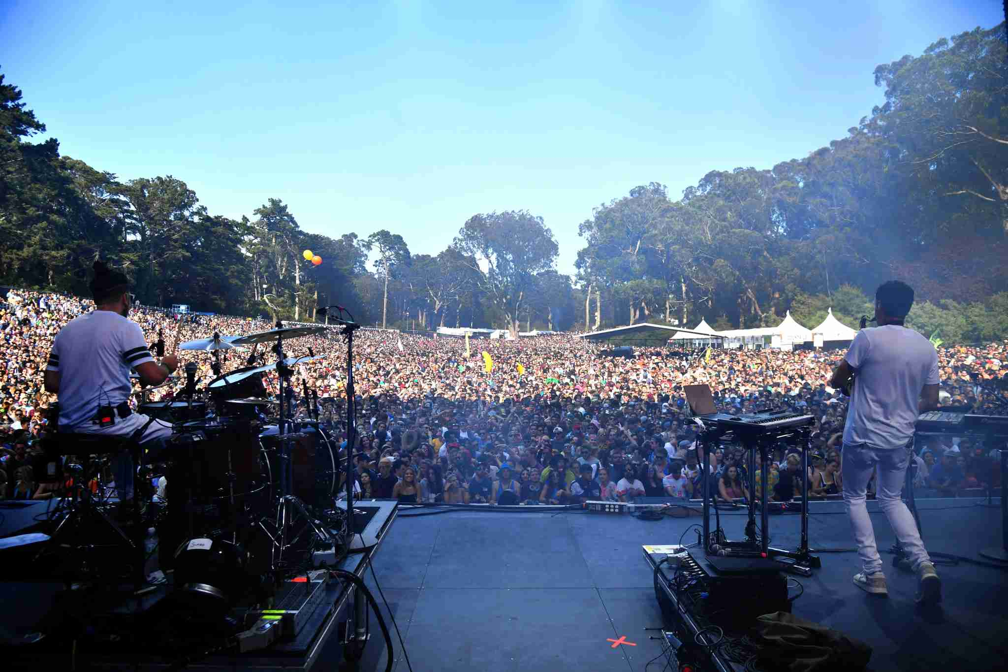 The Crowd at Outside Lands 2018 (Photo by Jeff Kravitz/FilmMagic)