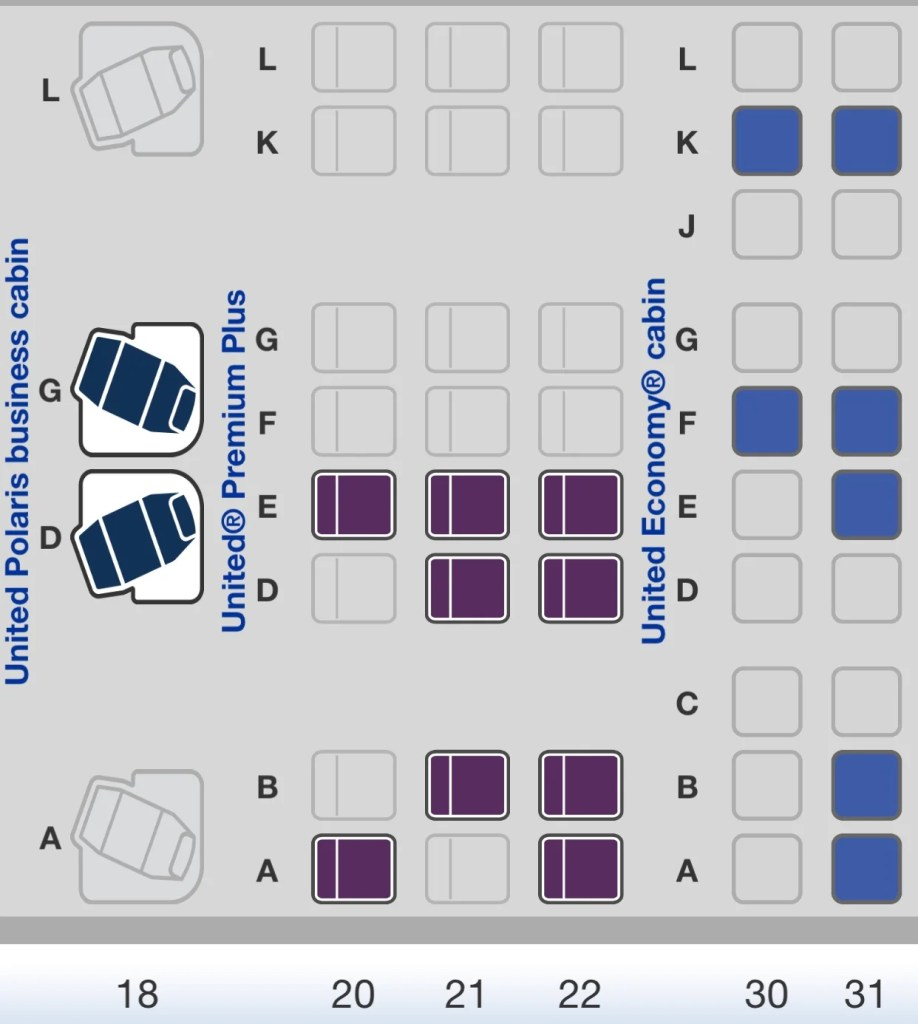 Review: United Premium Plus on the 777-300ER EWR-HKG