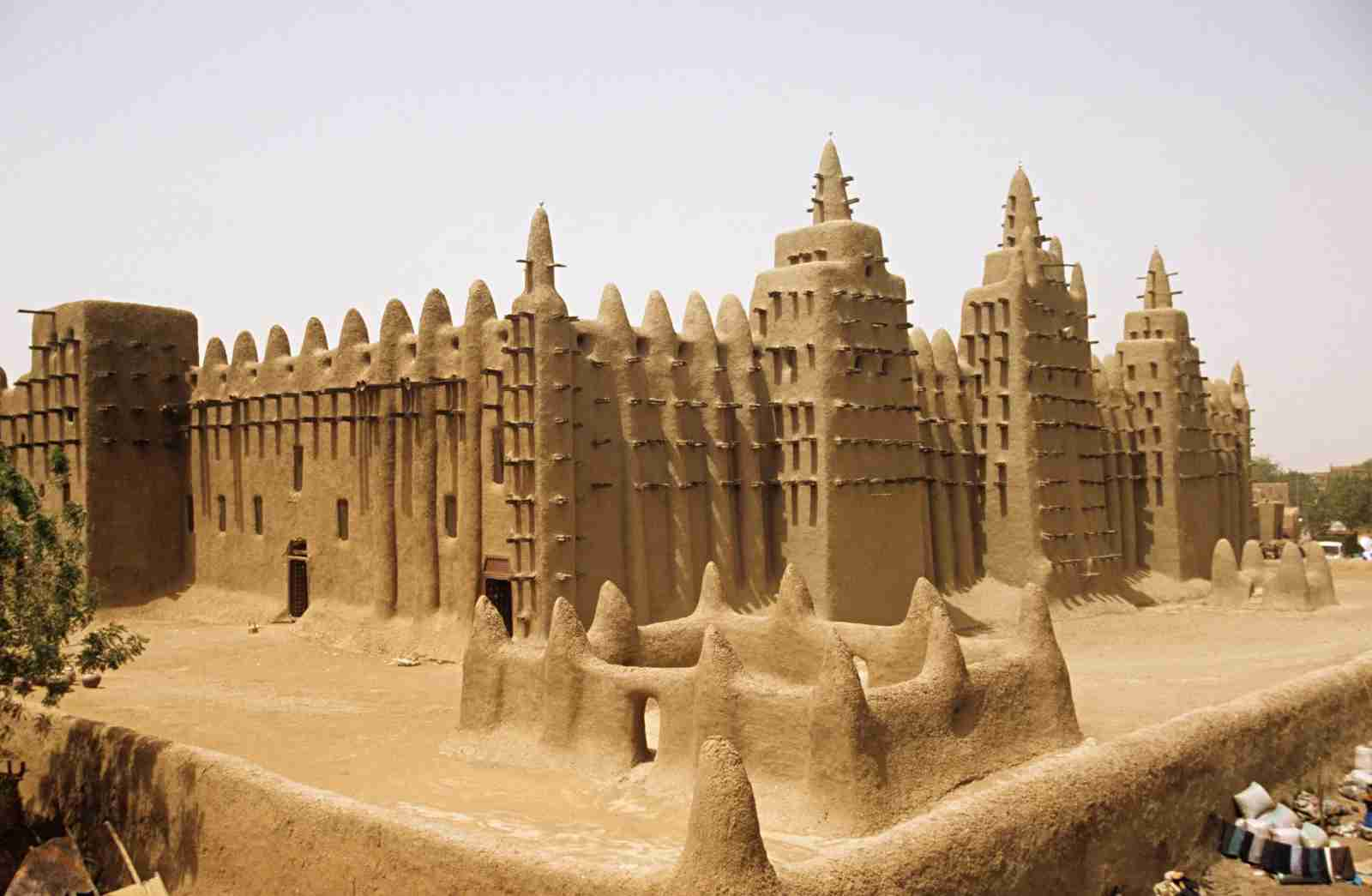 The Grande Mosque Djenné. (Photo by Image Source / Getty Images)