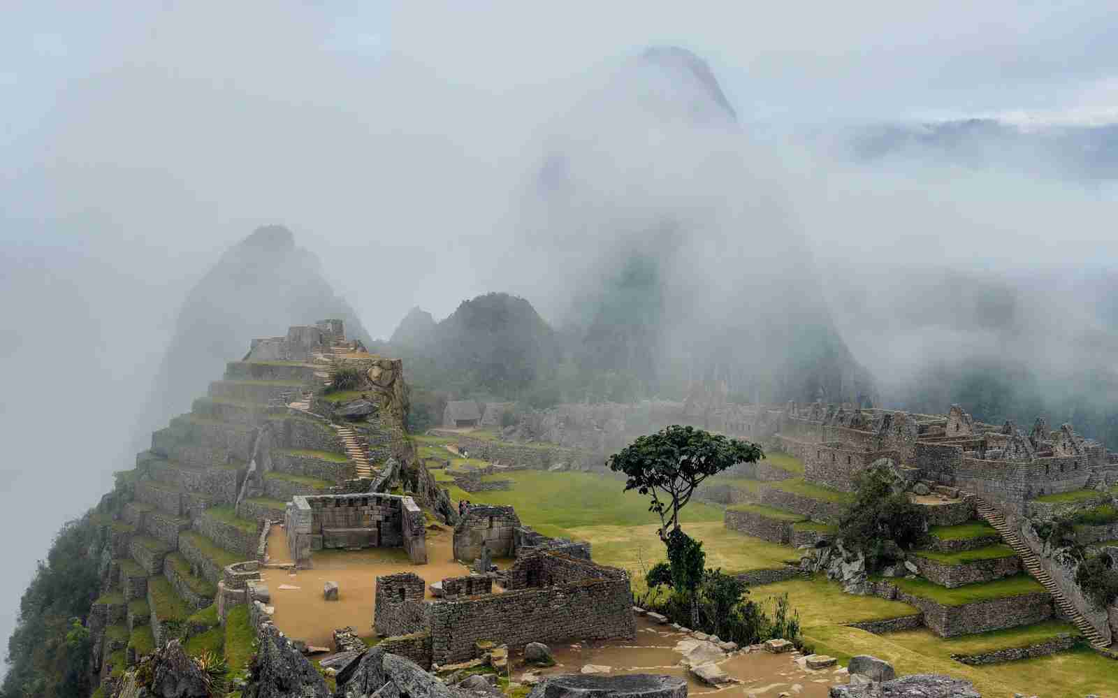 Misty Machu Picchu. (Photo by Pedro Lastra / Unsplash)