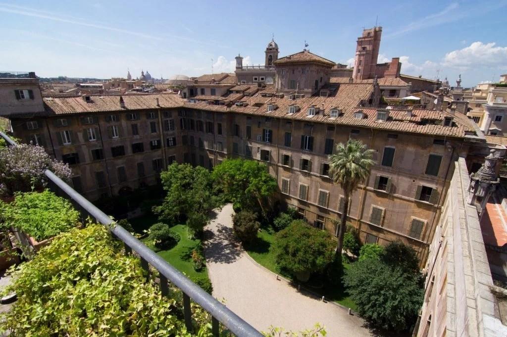 Palazzo Doria Pamphilj in Rome. Photo courtesy of Rete delle Dimore Storiche del Lazio.