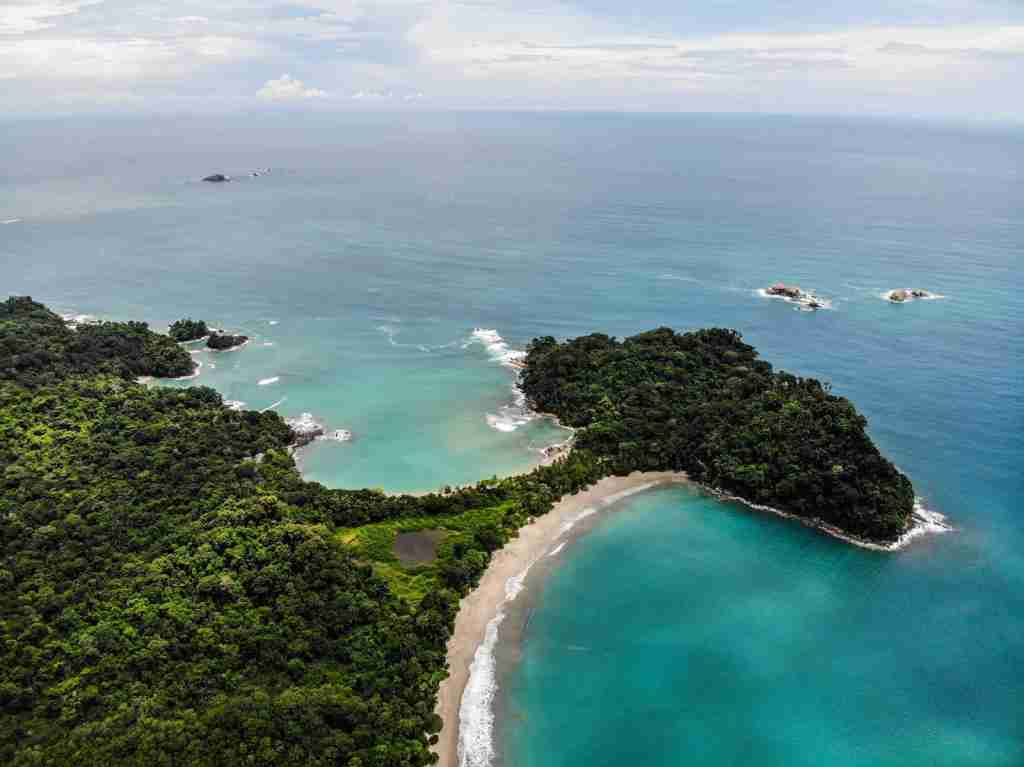 Playa Escondilla and Playa Manuel Antonio in Costa Rica. (Photo by Atanas Malamov / Unsplash)