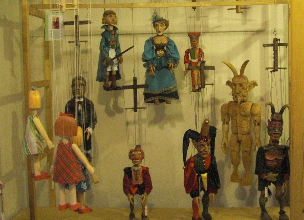 Hand-crafted puppets are a Prague specialty. Photo by Elen Turner