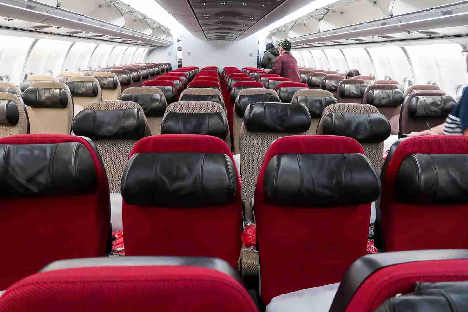 Virgin Atlantic A340 economy seats (Photo by Ben Smithson/The Points Guy)
