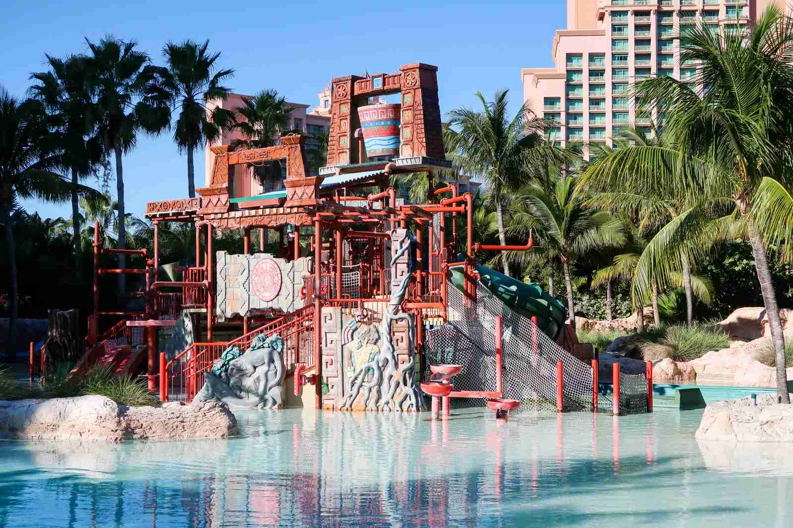 One of the sections at Aquaventure for young children.