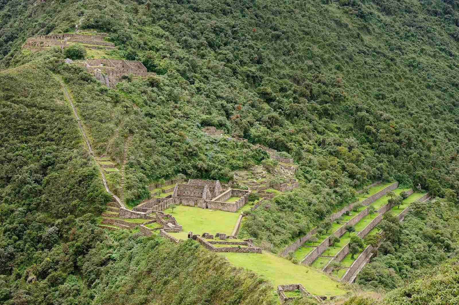 Choquequirao, the lost ruins in Peru. (Photo by rchphoto / iStock / Getty Images)