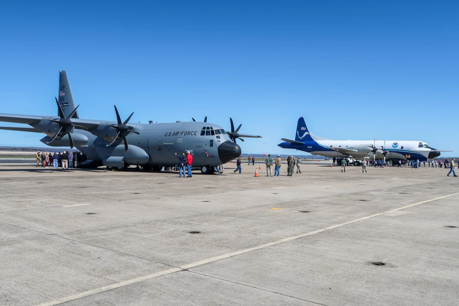 Take a Rare Look Inside Two 'Hurricane Hunter' Aircraft