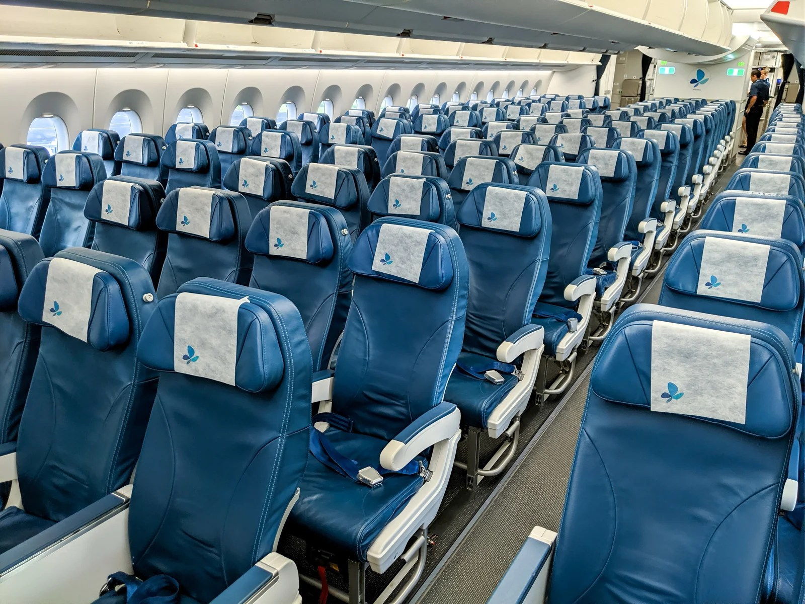 You can take a virtual 3D tour inside the world's densest Airbus A350