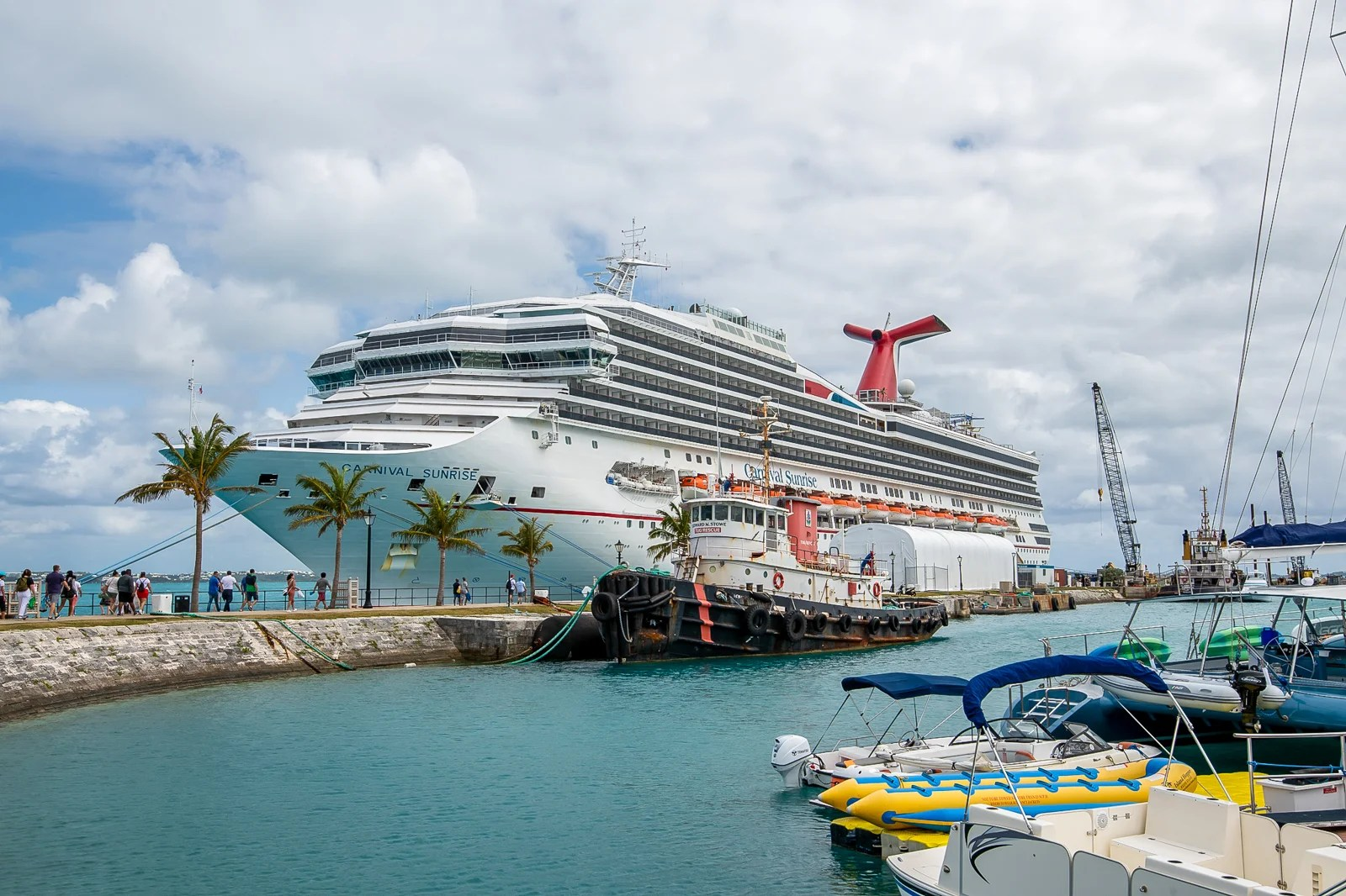 Cruising with Carnival on Talking Points