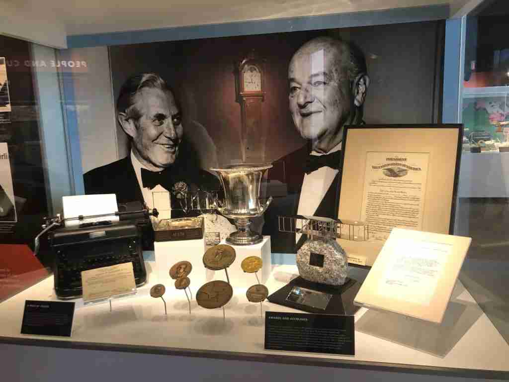 The museum is named for the legendary American Airlines President C.R. Smith (right), whobecame CEO of American in 1934 and led the airline for 34 years.