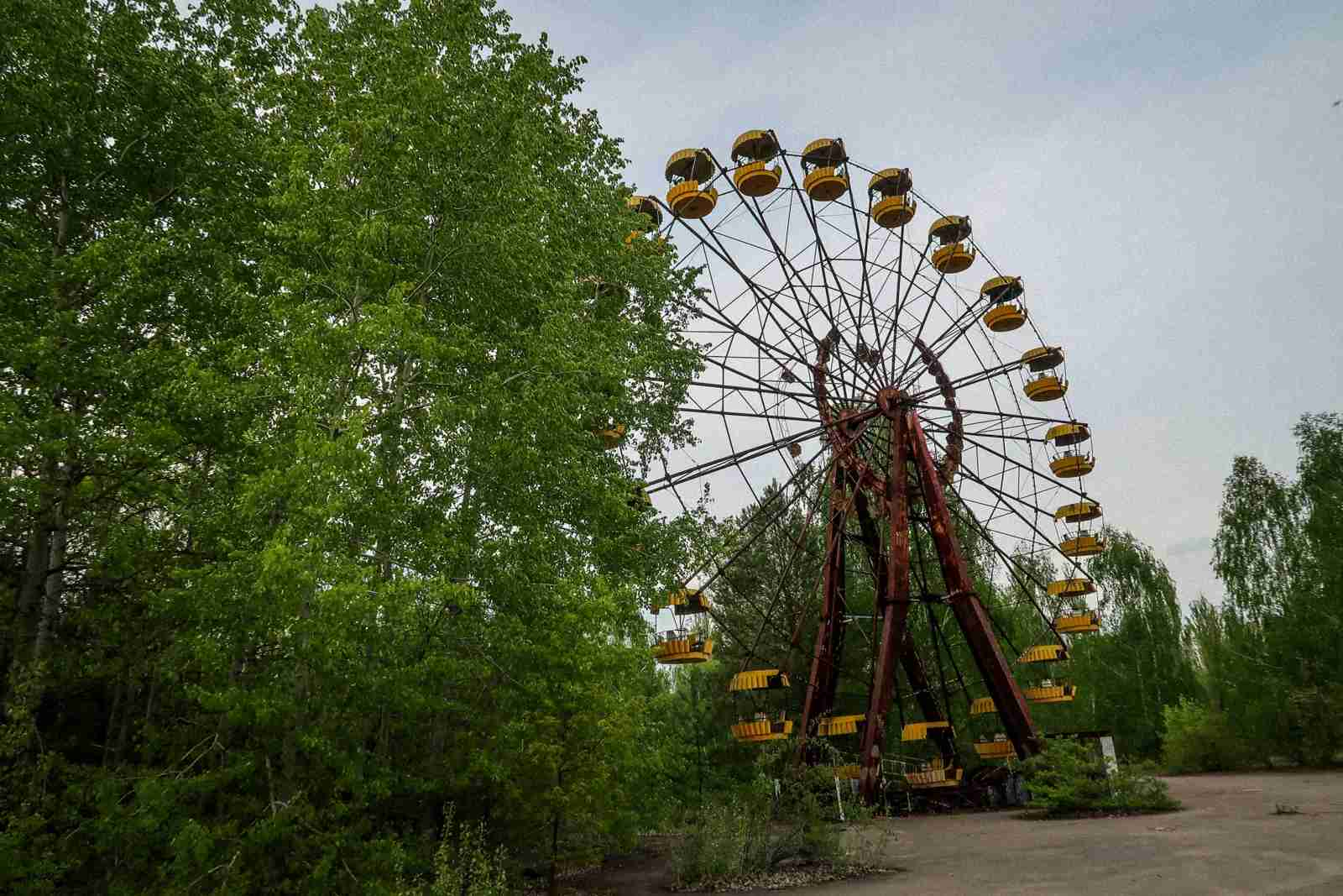 Chernobyl, Ukraine. (Photo by Ben Smithson)