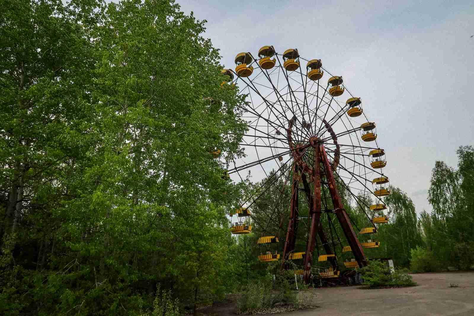 Chernobyl, Ukraine. (Photo by Ben Smithson)