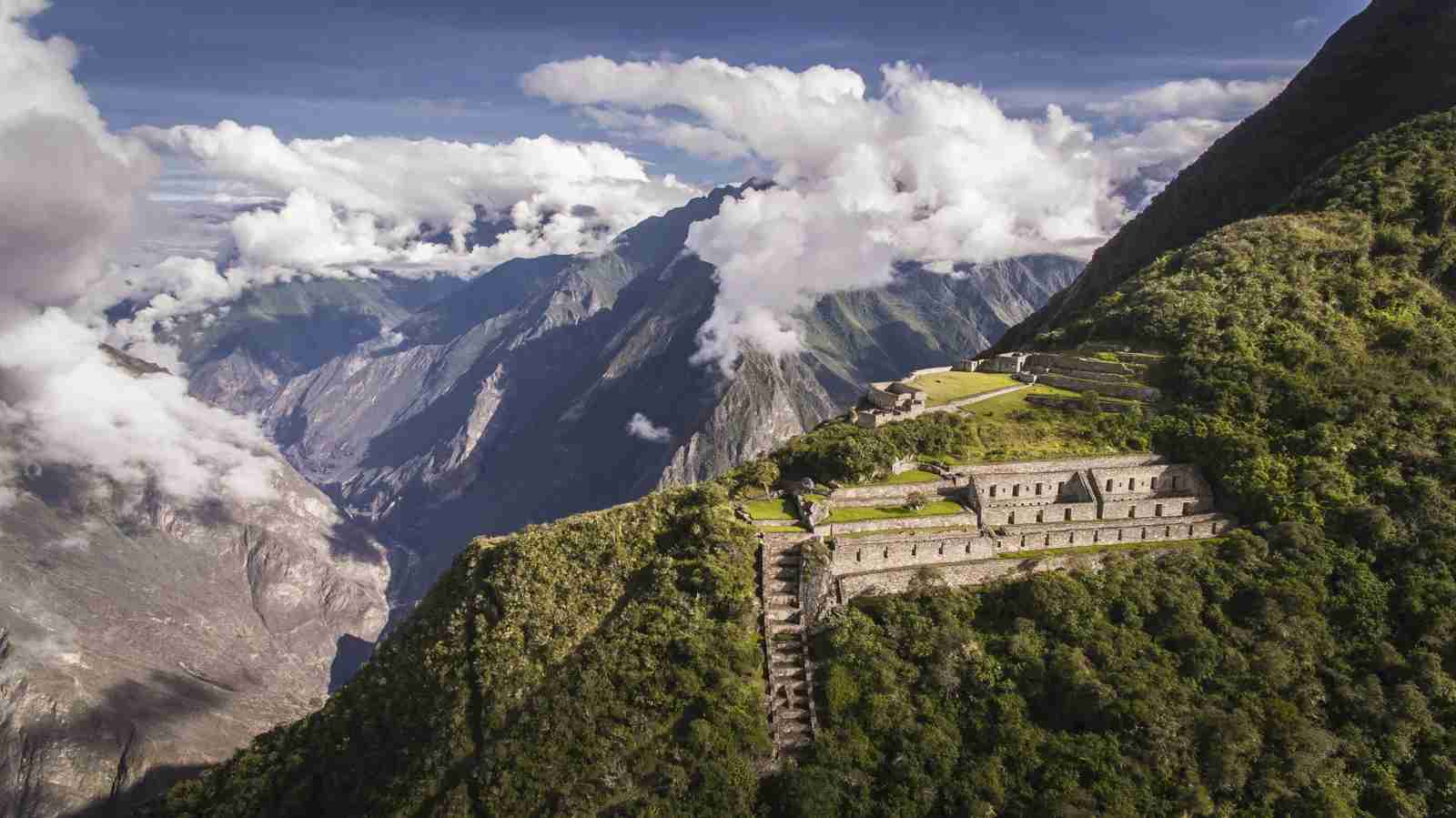 Choquequirao, an Incan site in south Peru. (Photo by Christian Declercq / Shutterstock)