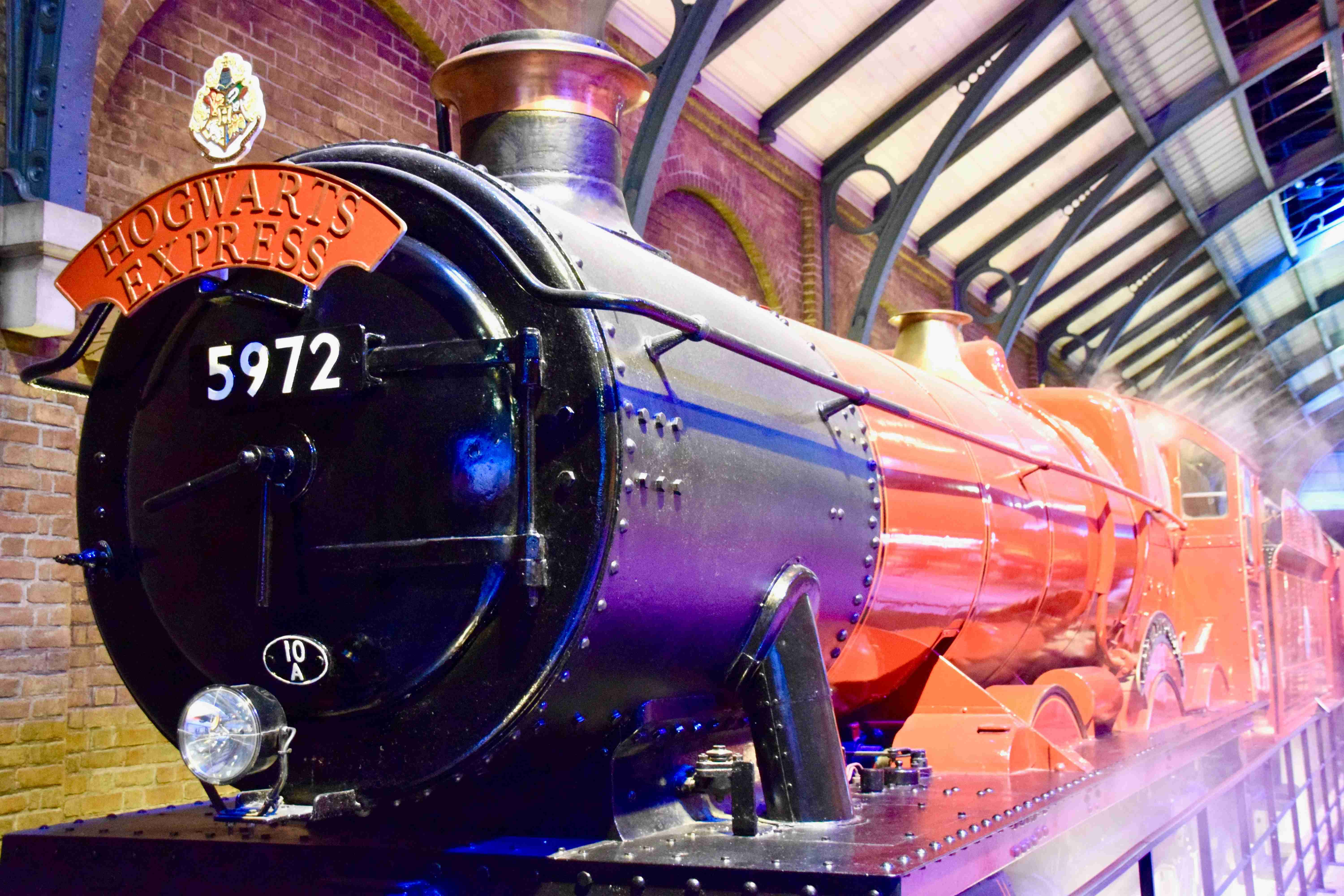 Hogwarts Express at Harry Potter Studios London