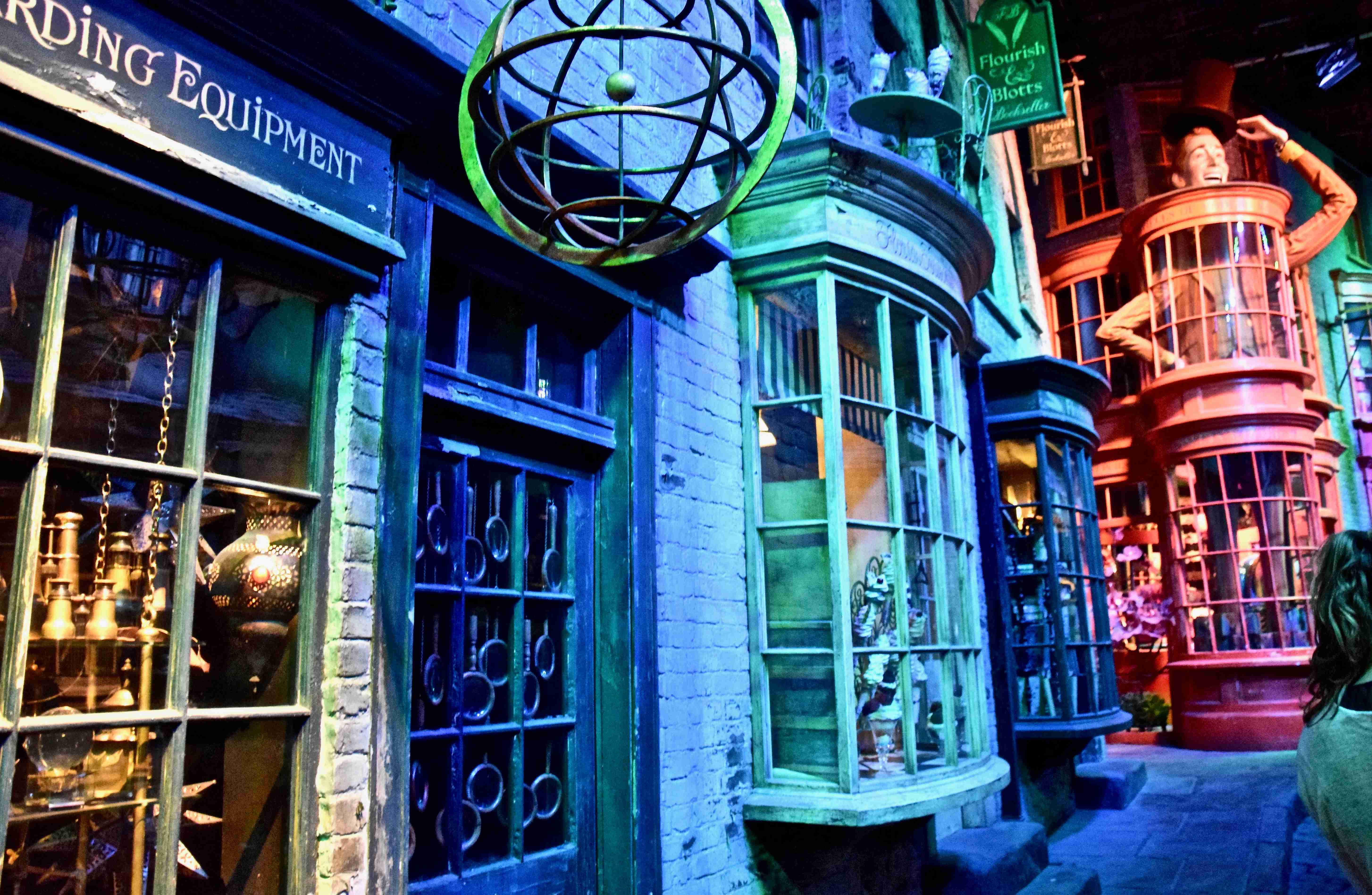 Diagon Alley at Harry Potter Studios London