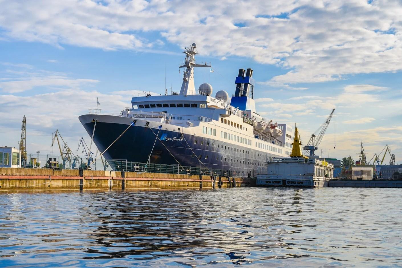 Saga Cruise' Saga Pearl II. (Photo by David Bukochava / Shutterstock)