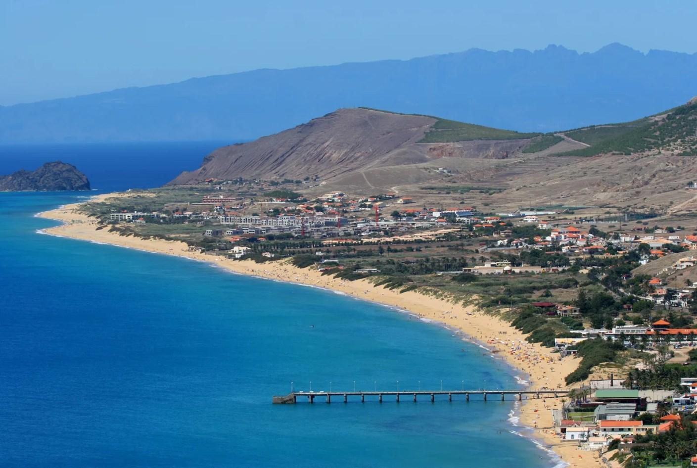 Porto Santo Beach. (Photo by Francisco Amaral Leitao / Shutterstock)