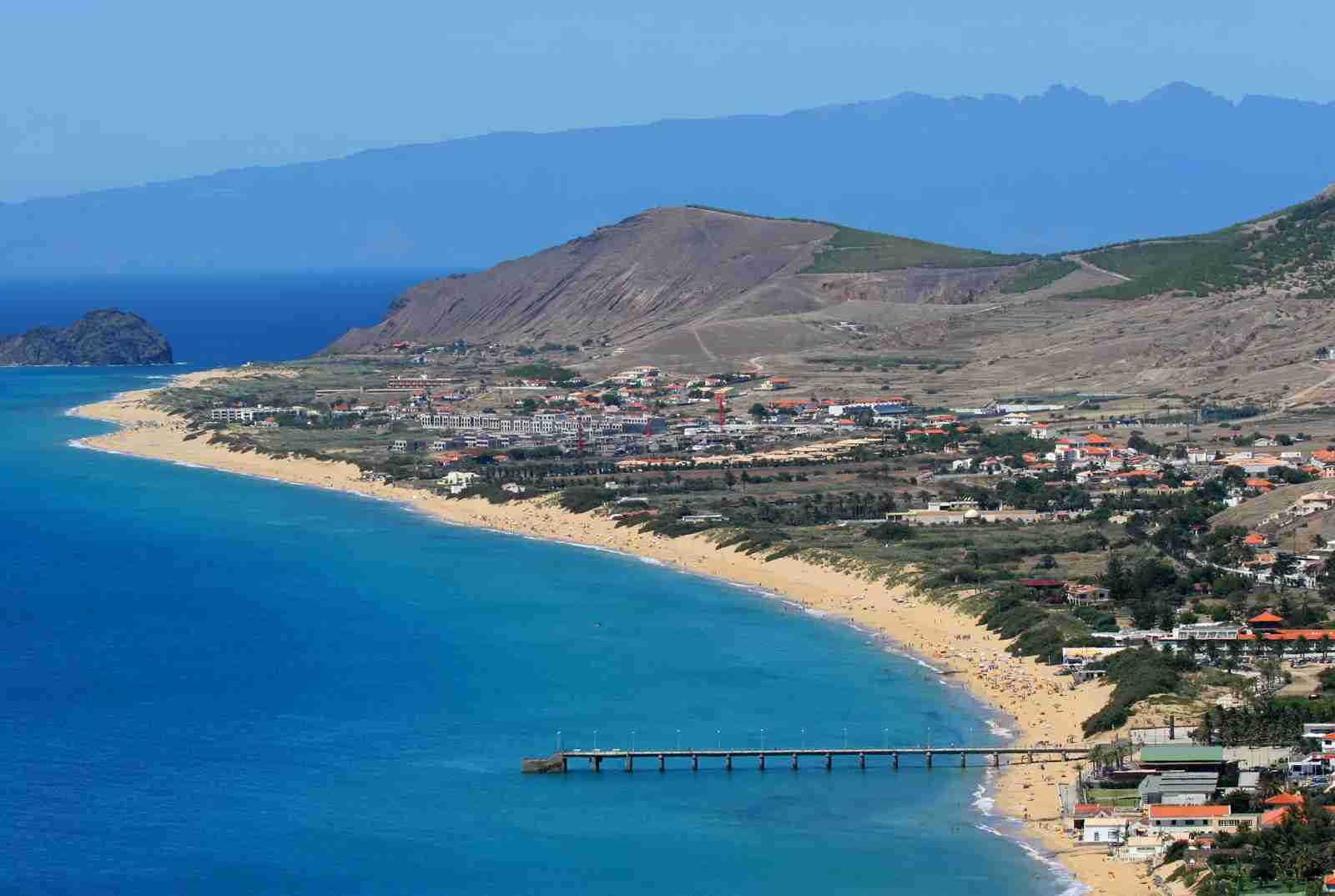 Porto Santo Beach. (Photo by Francisco Amaral Leitao / Shutterstock)