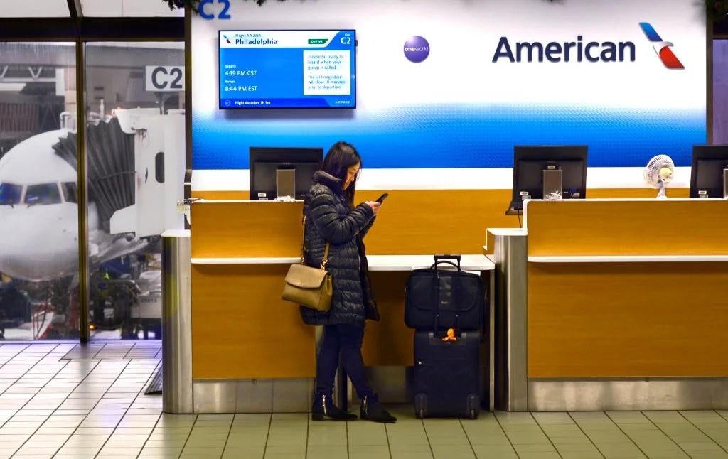American Airlines No Longer Contacting Passengers Via
