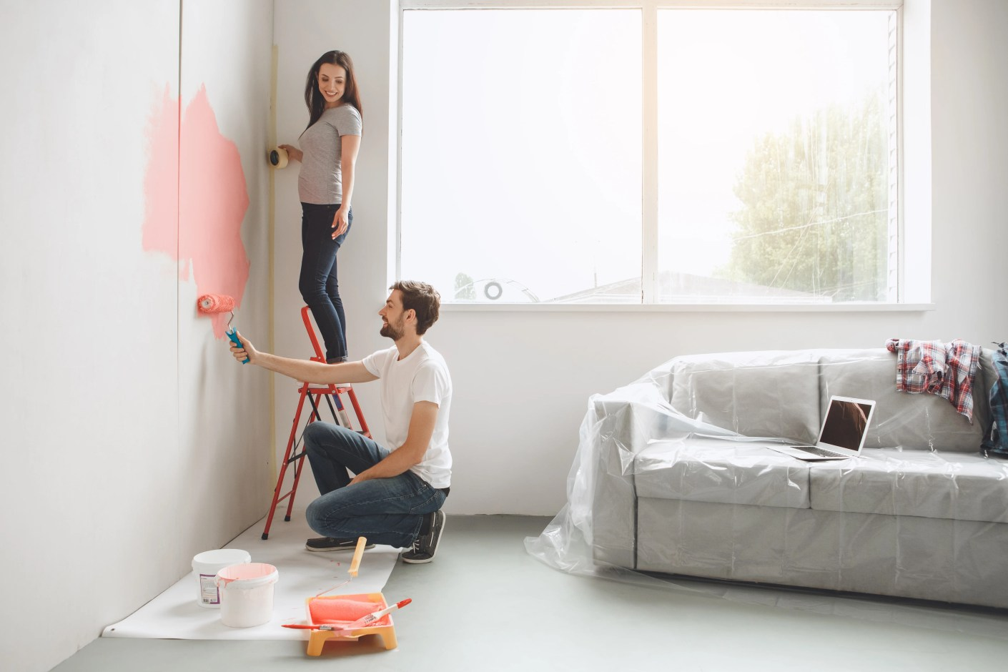 DIY projects are often less expensive than vacations and can be fun and rewarding.