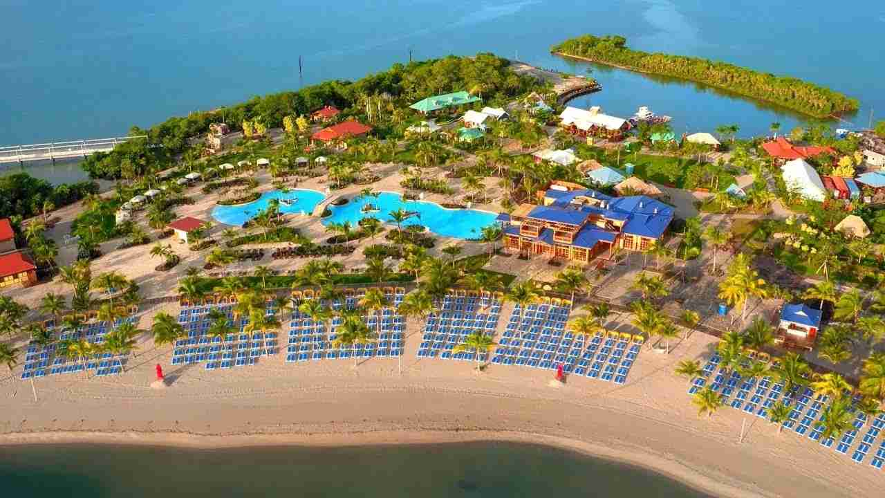 Harvest Caye Belize Private Island Norwegian Cruise Lines