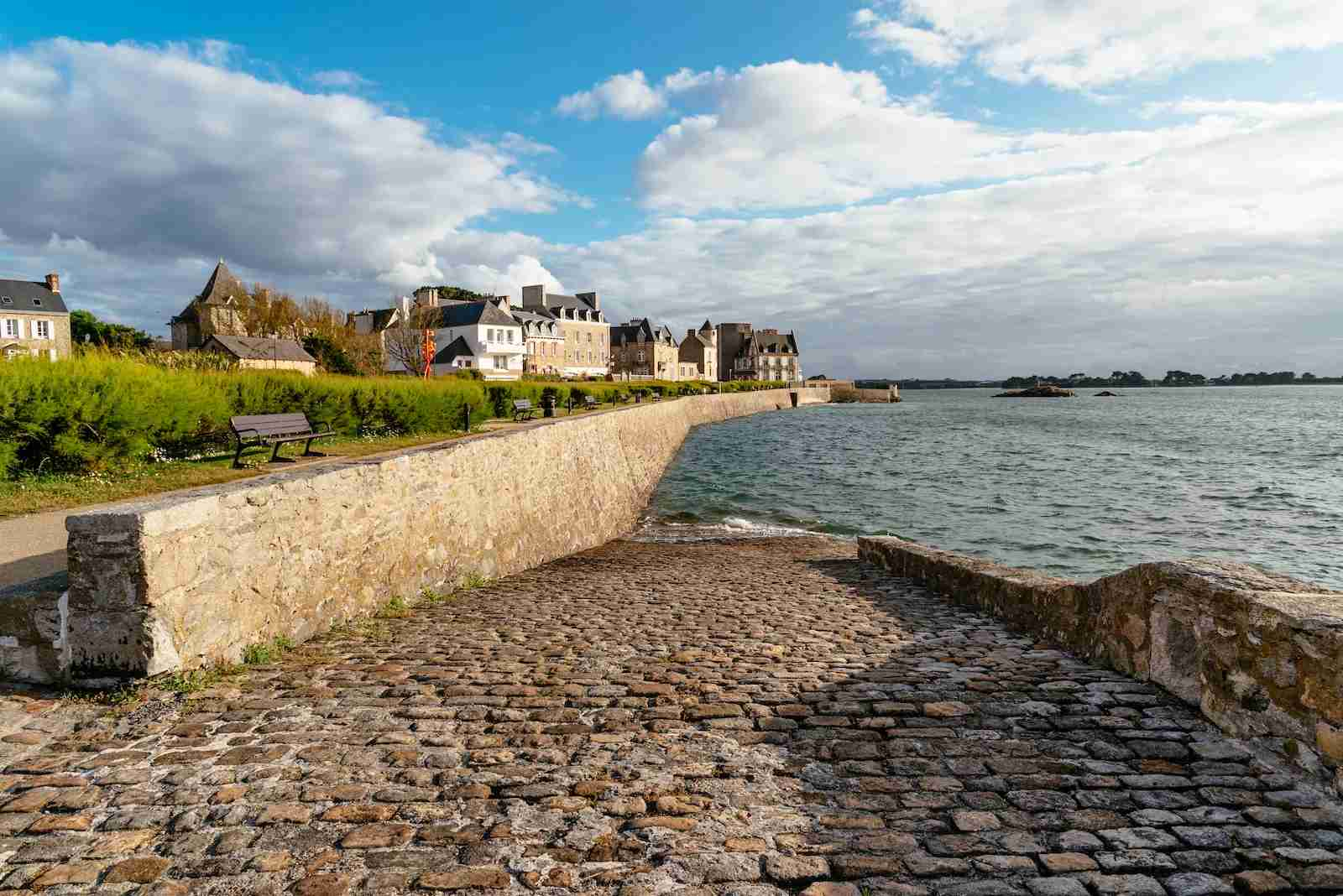 Waterfront of Roscoff on the Ile of Batz. (Photo by JJFarq / Shutterstock)