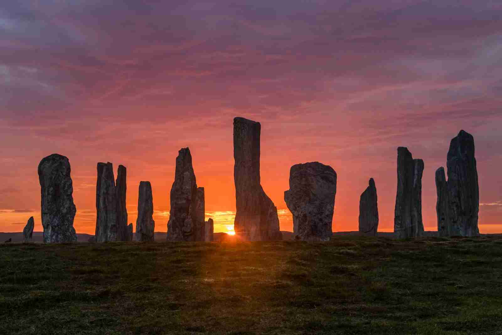 Calanais Standing Stones, Isle of Lewis, Outer Hebrides, Scotland. (Photo by Petr Sommer Photography / Shutterstock)