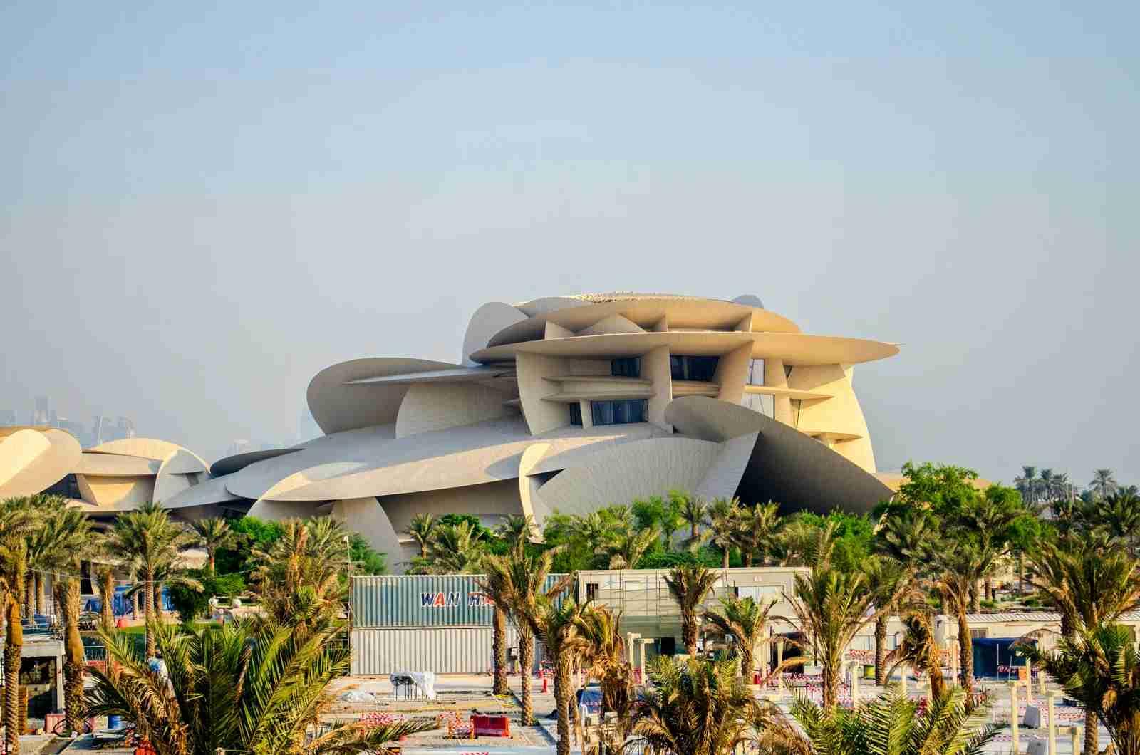 The National Museum of Qatar. (Photo by PremChokli / Shutterstock)
