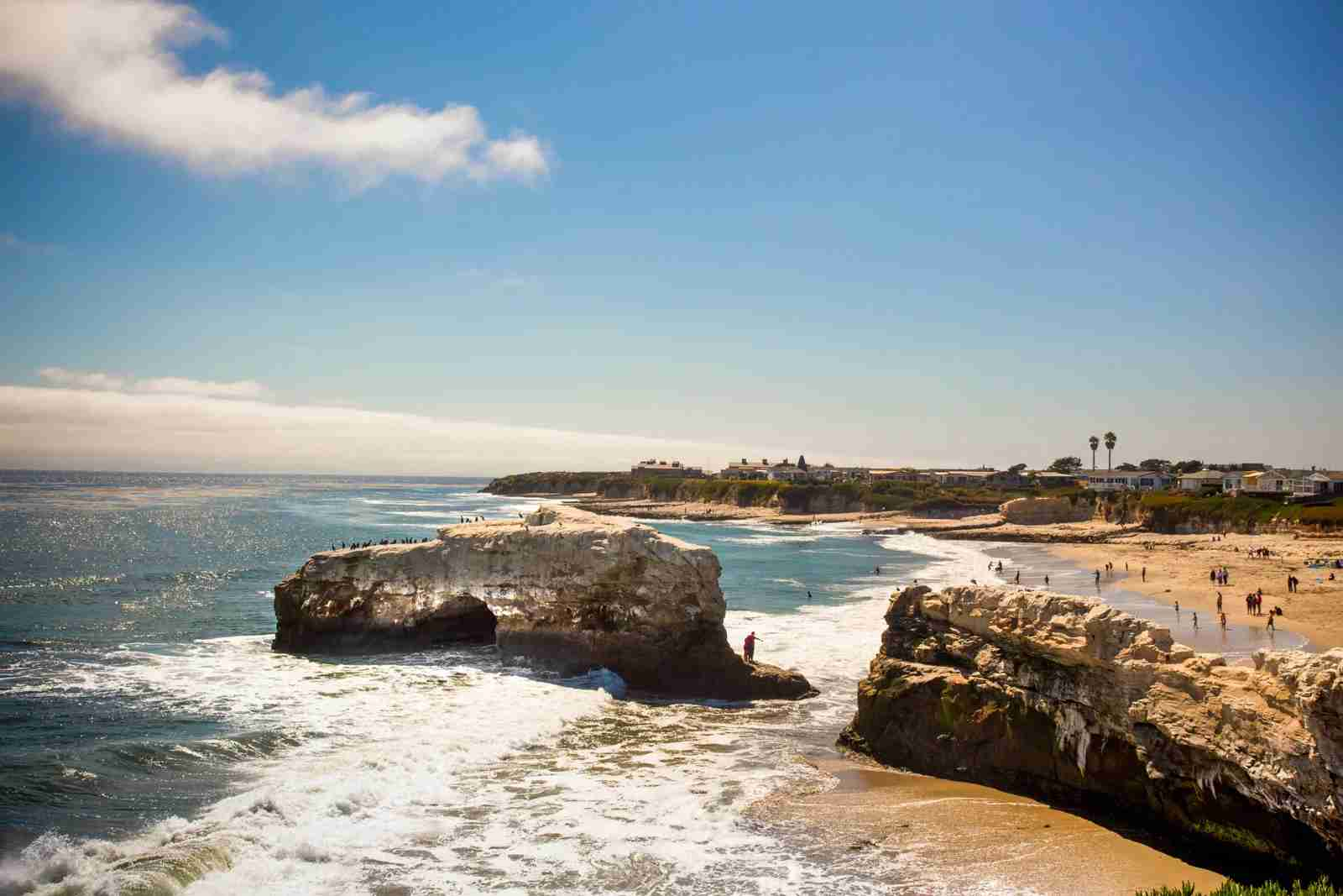 Natural Bridge State Beach. (Photo courtesy of littleny / Getty Images)
