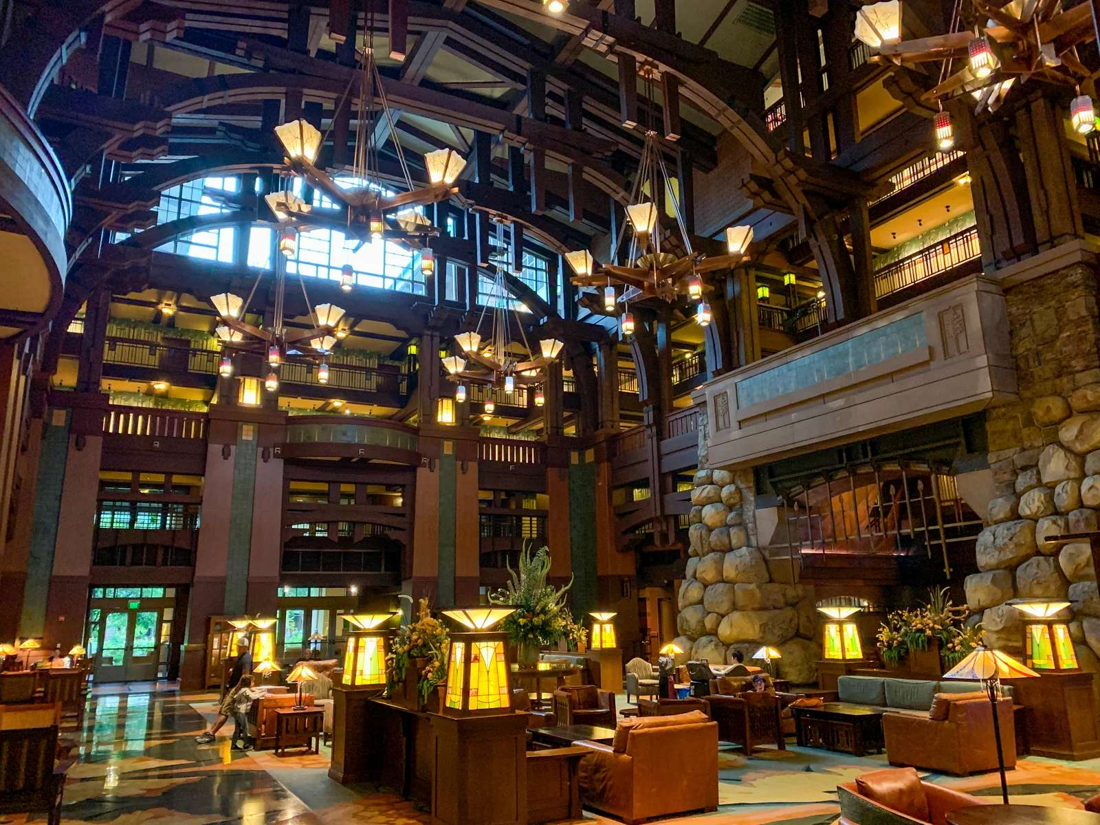 Disneyland Grand Californian Hotel Lobby