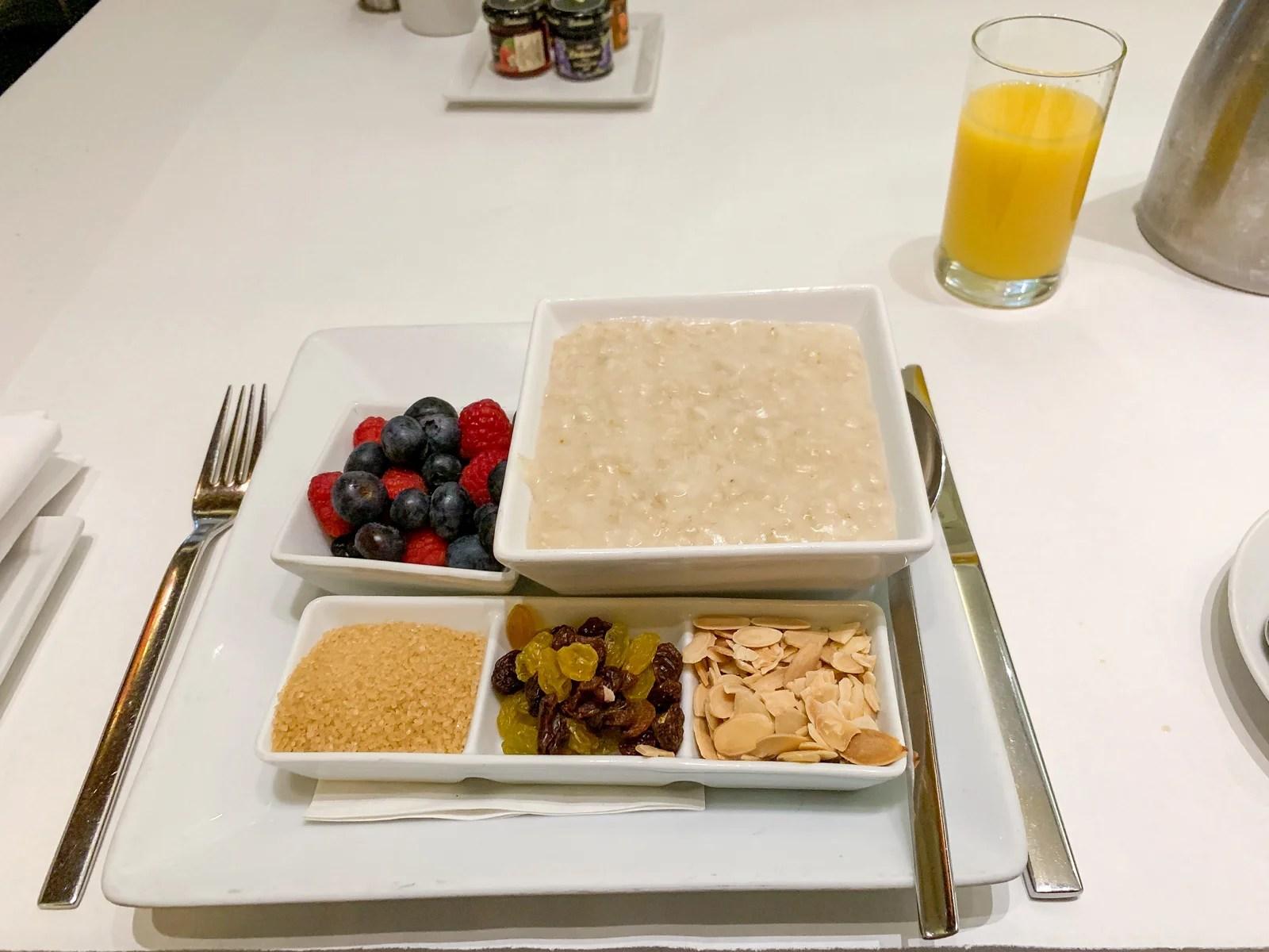 Maxwell Hotel NYC Food