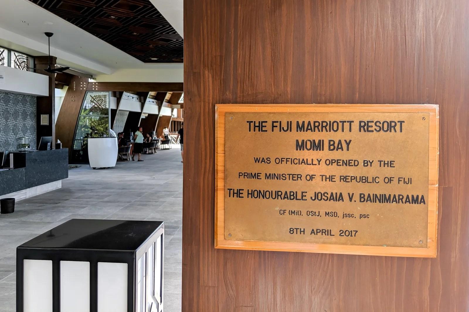 A Review of the Fiji Marriott Resort Momi Bay
