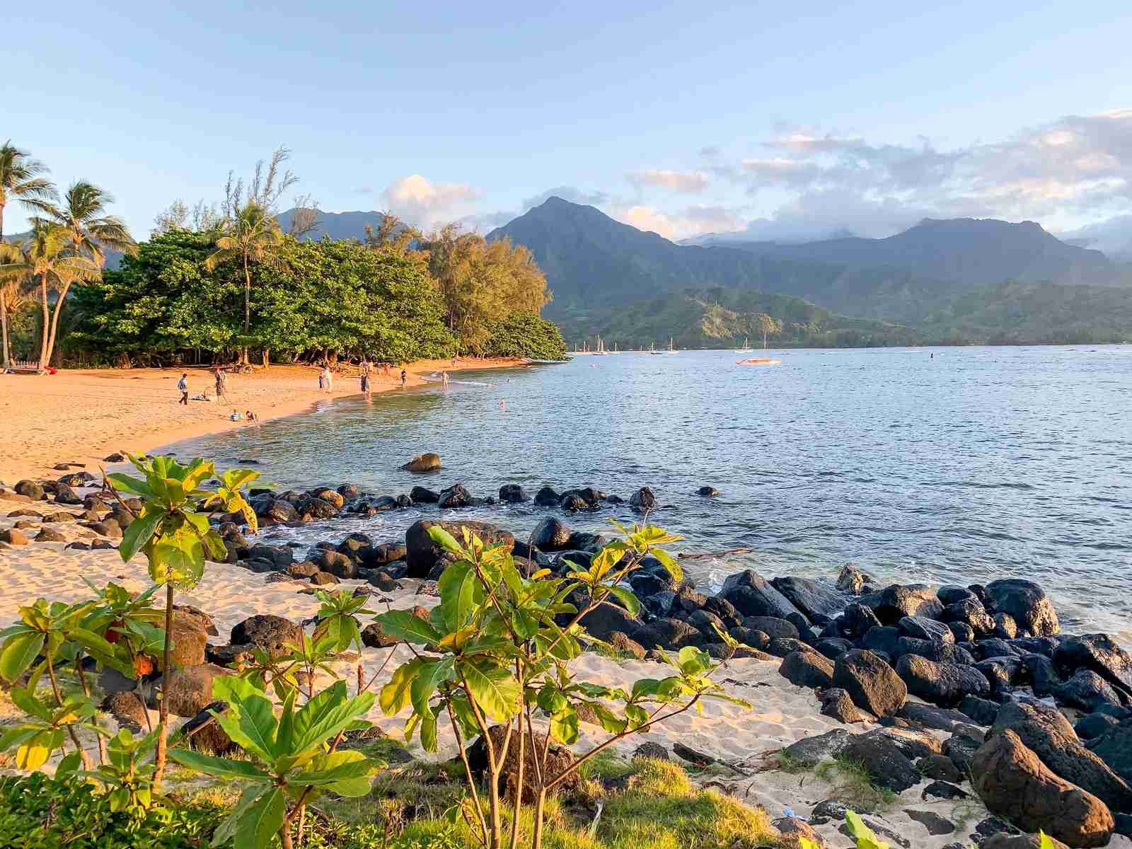 Beach near the Westin Princeville (Photo by Summer Hull / The Points Guy)
