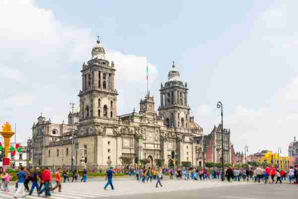 Cathedral of Mexico Zocalo
