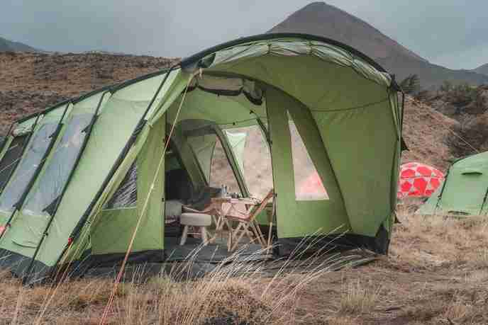"This is a ""Glamping"" set-up in the Elqui Valley. (Image by UPSCAPE)"